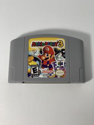 Nintendo 64- Mario Party 3 for Sale in Virginia Beach, VA