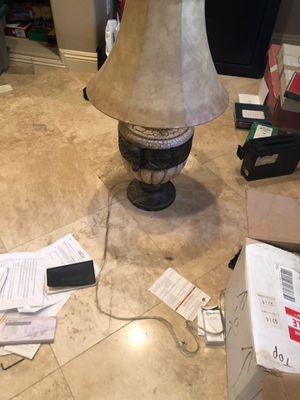 Big bed side table lamp broken base for Sale in Las Vegas, NV