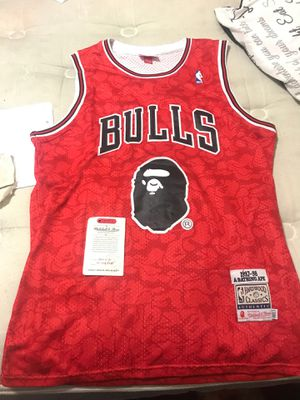 Bape Bull Jersey sz L for Sale in Fort Worth, TX