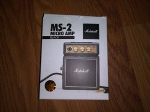 MARSHALL MS-2 micro amp black for Sale in Los Angeles, CA