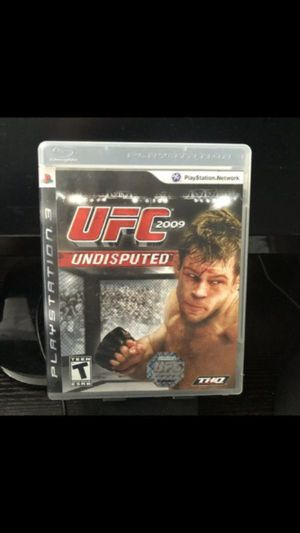 Used, UFC Undisputed 2009 PS3 Game for Sale for sale  New York, NY