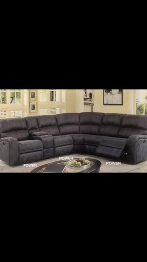Contemporary comfy sofa POWER RECLINER lounger!! for Sale in San Clemente, CA