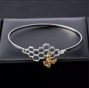 Brand new in package silver honeycomb bracelet with miniature golden bee 🐝 charm for Sale in Philadelphia, PA
