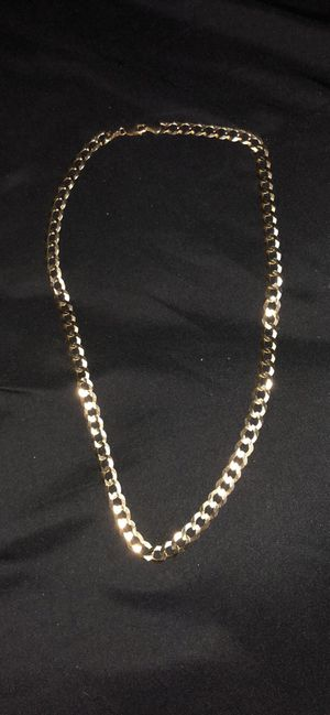 Gold Cuban chain 14k 56g for Sale in Baltimore, MD