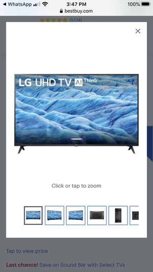 """BRAND NEW TV (box pack)LG - 65"""" LED UM7300PUA Series -2160p Smart 4K for Sale in Queens, NY"""