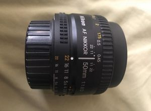 Nikon 50mm Lens for Sale in Fort McDowell, AZ