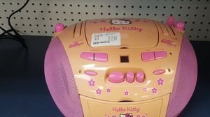 Hello kitty tape/cd player for Sale in Houston, TX