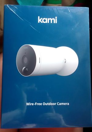 Kami outdoor security camera for Sale in Pinellas Park, FL