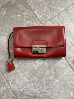 Michael Kors Red purse authentic for Sale in VA, US