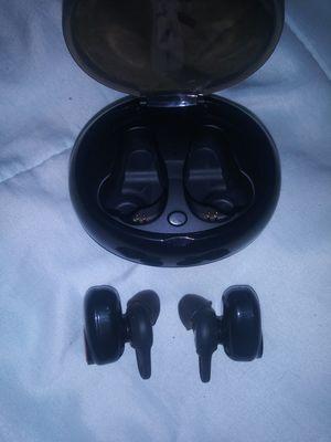 Black Wireless bluetooth headphone earbuds for Sale in New Castle, DE