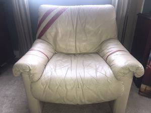 Swedish leather chair for Sale in Oakland, CA