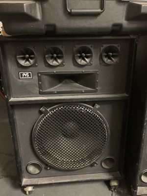 2 Pvs speakers (DJ, events, etc) for Sale in Fort Washington, MD