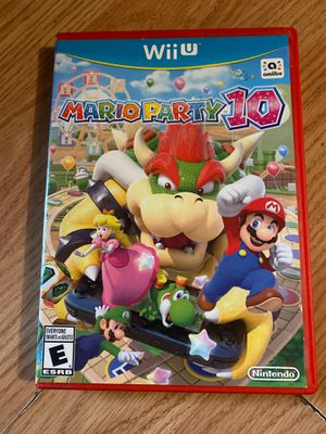 Mario party 10 wii u for Sale in Colton, CA