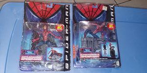 SPIDERMAN COLLECTABLE ACTION FIGURES..$25 EACH FIRM.. BOTH IS $50!! THANLA FOR LOOKING for Sale in Miami, FL