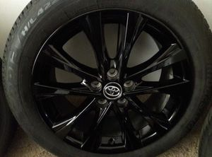 New tires with black rims. 18' wheels for Sale in Kansas City, MO
