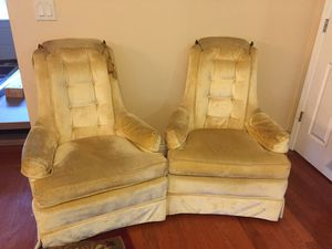 Antique sofa and lounge chairs for Sale in Alafaya, FL