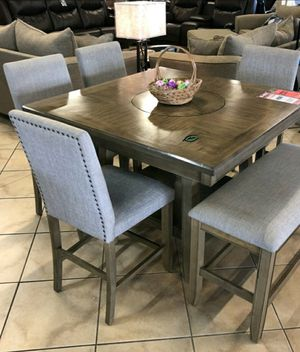 🏷Best OFFER. Manning Brown Counter Height Set for Sale in Jessup, MD