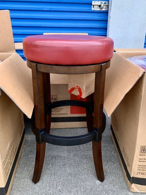 Set of four 2-in-1 Swivel Barstools (PLEASE SEE THE DESCRIPTION) for Sale in Flower Mound, TX