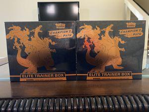 Pokemon Champion's Path Elite Trainer Box for Sale in Las Vegas, NV