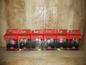 6 Pokemon Sellect Collection for Sale in Carol Stream, IL