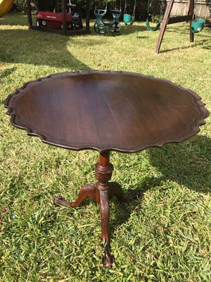 Mahogany Tilt Top Pie Crust Table Antique for Sale in Miami, FL