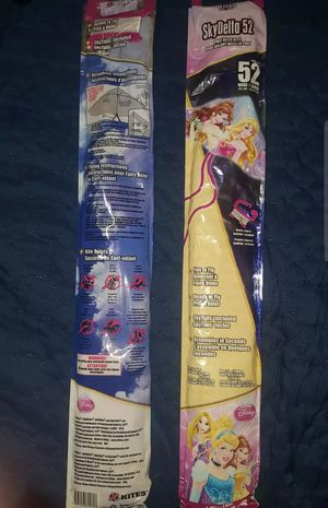 2 Disney Princess Kites NEW for Sale in Fort Worth, TX
