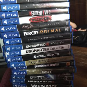 PS4 Games for Sale in Rustburg, VA