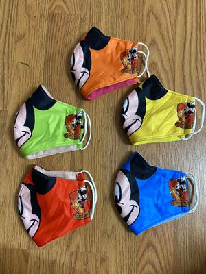 Mickey Face Masks Protection For Kids 100% Prints for Sale in Glendale, AZ