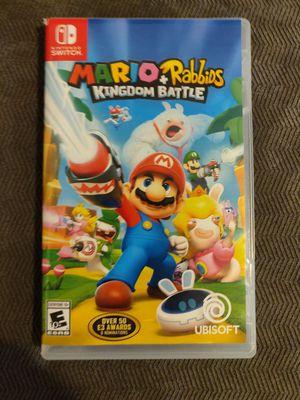 Mario + Rabbids - Nintendo Switch (Mint Condition) for Sale in Mesa, AZ