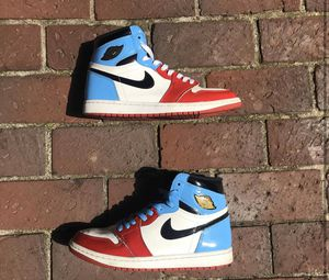 Jordan 1 Fearless Size 8 No box Pretty worn. Heel drag and light scuffing. No other defects for Sale in Portland, OR