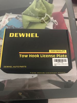 Tow Hook License Plate Bracket for Sale in San Jose, CA
