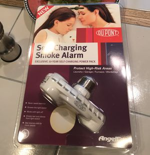 DuPont Angeleye smoke detector new unopened for Sale in North Potomac, MD