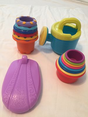 Stacking Cups / Bath Toys for Baby and Toddlers for Sale in Virginia Beach, VA