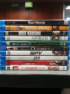 Blu-rays Movie Lot 10 All For $25 for Sale in Los Angeles, CA
