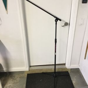Boom Microphone Stand for Sale in Fort Pierce, FL