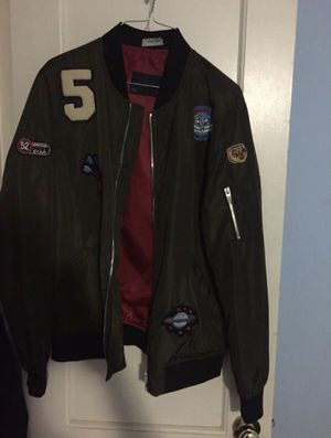 Zara Bomber Jacket W/Patches for Sale in Washington, DC