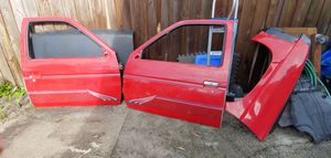 2 Nissan pickup doors no glass for Sale in Tampa, FL