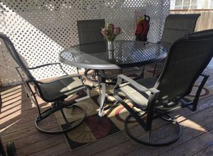 Nice garden set table and 4 chairs for Sale in Winter Garden, FL