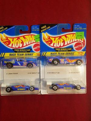 Hot Wheels Race Team Series 2 packs for Sale in Newburgh, IN
