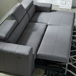 IN STOCK /Salado Gray Sleeper Sectional with Storage for Sale in Philadelphia,  PA