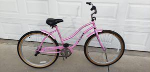 BEACH CRUISER PINK BICYCLE BIKE LADIES for Sale in Clovis, CA