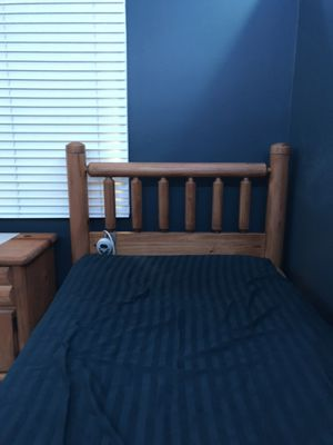 Twin Size Bed Frame (need gone) $100 OBO for Sale in Northville, MI
