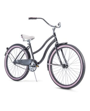 HUFFY Women's Cruiser Bike 26 inch wheels Black & Pink BRAND NEW IN THE BOX for Sale in Kissimmee, FL