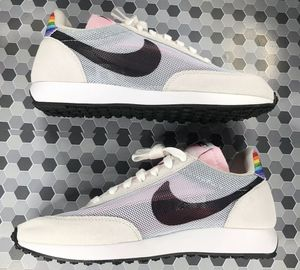 """Nike Air Tailwind 79 """"Be True"""" Rainbow Men's White Black Running Shoes Size 10 for Sale in Jacksonville, FL"""