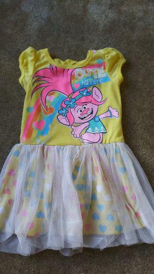 Trolls dress size 2t for Sale in Chula Vista, CA