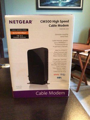 Netgear High Speed Cable Modem for Sale in Toms River, NJ