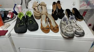 Used shoes. Size six to ten for Sale in Fresno, CA