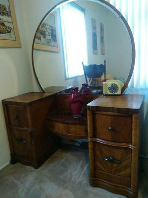 Antique desk I believe from the 30s or make offer for Sale in Costa Mesa, CA