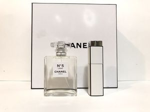No 5 L'EAU BY CHANEL PERFUME FOR WOMEN SPRAY 2PC GIFT SET 3.4 OZ + 0.7 OZ NEW IN BOX for Sale in Dallas, TX