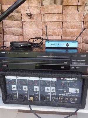 DJ setup 2peaveySpeakers,MasterEqualiza for Sale in US